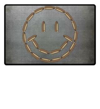Bullet Smile Doormat