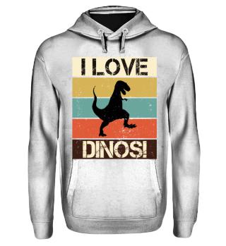 Streifen & Dinosaurier - I LOVE DINOS IV
