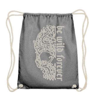 Artsy Vintage Skull - Be Wild Forever 1