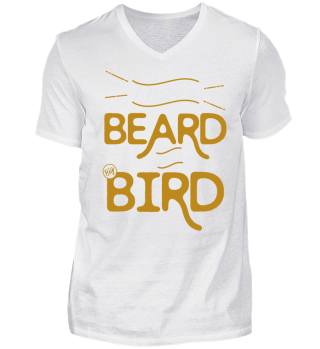 Beard-shirt for Hipsters