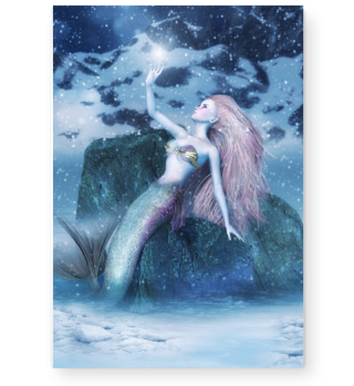 Mermaid winter
