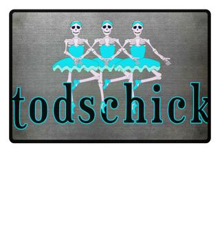 TODSCHICK Balletttäenzerinnen Türkis