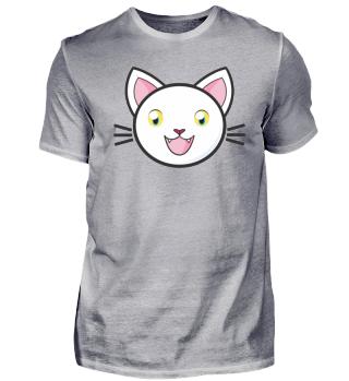 Happy cat yelllow eyes