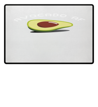 Funny Avocado AF Vegan Vegetarien Shirt