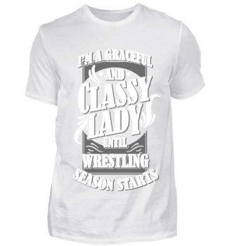 Wrestling Lady Women