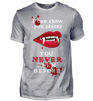 you never been before - Halloween Vampir