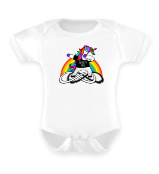 Dabbing Rainbow Unicorn - Infinity Dab 4
