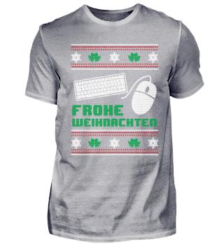 Entwickler Programmierer Shirt Frohe