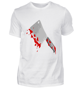 Halloween Serienmörder Blut Beil Horror