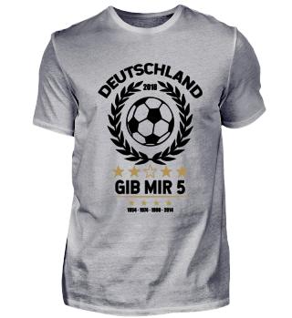 FUSSBALL SHIRT · GIB MIR FÜNF #4.1