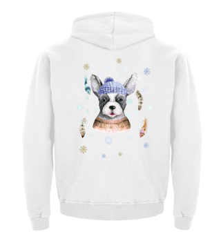 ☛ Merry Christmas · Boho Dog · Hund #7C