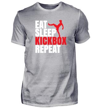 Eat Sleep Kickbox Repeat