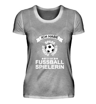Fussball Shirt - Fussballspielerin