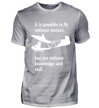 Segelflieger T-Shirt Geschenk