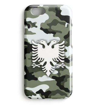 Flamujt e Camouflage Shqiptare Iphone 2