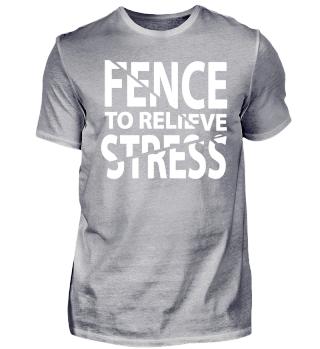 Fechten Sport Degen Stress Geschenk