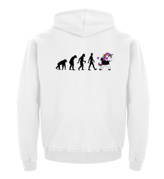 Evolution Of Humans - Dabbing Unicorn 1