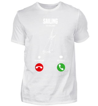 My sailing boat is calling! gift