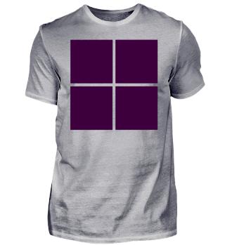 Trikot Logo lila violett Geschenk