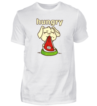 Hungry -Dog Steak motive - Gift Idea