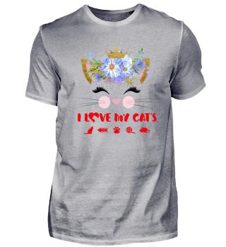 CAT-FACE - I LOVE MY CATS #4.3