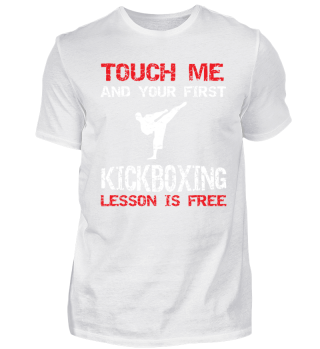Funny Martial Arts Kickboxing Shirt Gift