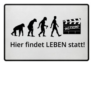 Evolution Of Humans - Clapperboard Ia