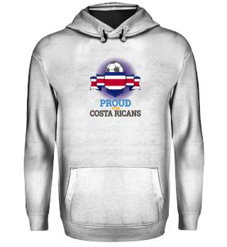 Proud Costa Rica Football-Soccer Shirt
