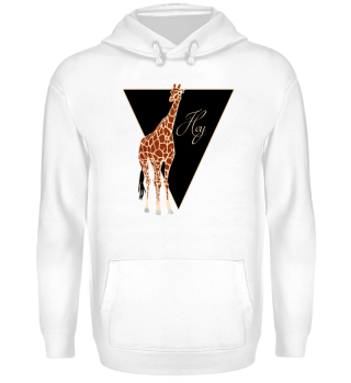 ♥ Triangle Hey GIRAFFE brown