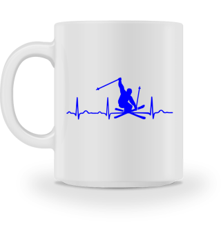 GIFT- ECG HEARTLINE SKIING BLUE