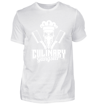 Culinary Gangster - butcher & skull cook
