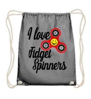 I Love Fidget Spinners - smiley