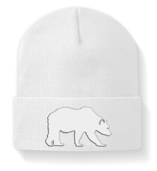 ♥ Embroidery - Polar - Grizzly - Bear