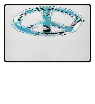 ♥ Peace Sign - Animal Print II