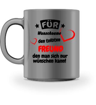 Personalisierbare Kaffee Tasse - Freund
