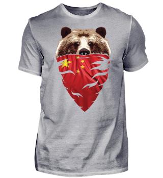 BEAR Vintage Patriot China