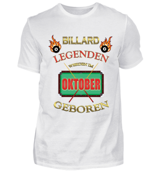 BILLARD LEGENDEN OKTOBER POOL