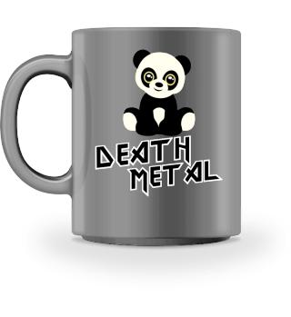 Süßer Death Metal Panda Tasse Geschenk