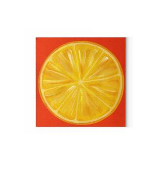 Obst Zitrone Zitronenscheibe