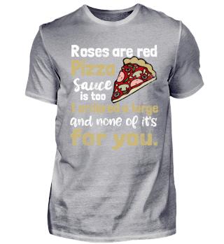 Gedicht über Pizza. Ich liebe Pizza