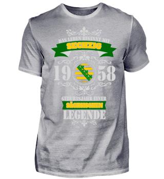 LEGENDE SACHSEN - 60 - 1958