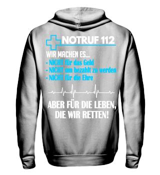 Notruf rettet Leben - T-Shirt