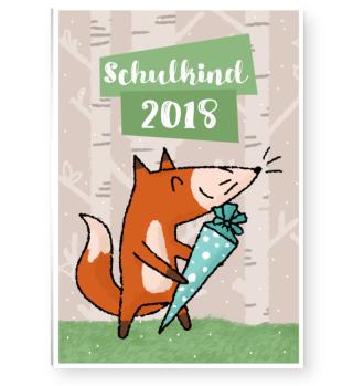 smietz Poster DIN A1 - Schulkind Fuchs