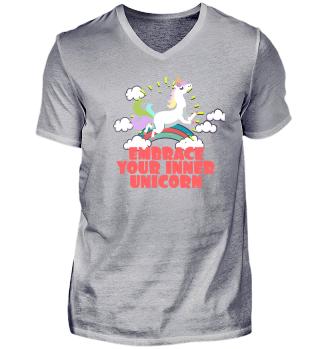 Lustiges Einhorn Geschenk T-Shirt