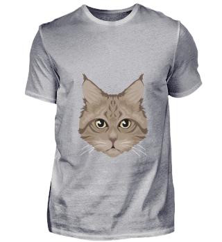 D007-0037 Brown Cat / Katze