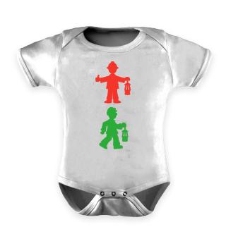 Babystrampler – Bergmannsampel