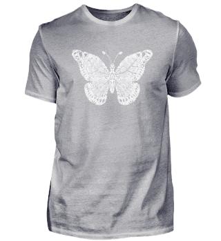 Butterfly Mandala Yoga Shirt