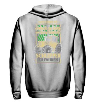 Landwirt · Traktor · Leben ist kurz