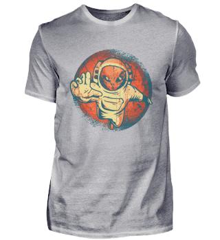 Alien Ufo Astronaut Space