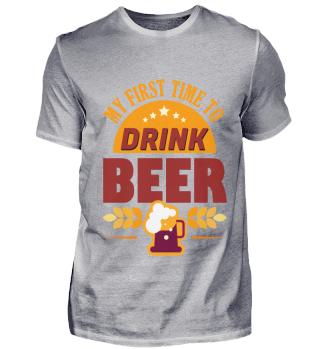 Drink Beer, Geschenk, Geschenkideee